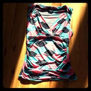 Soft short sleeve top